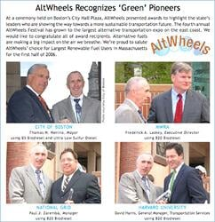 AltWheels recognizes green pioneers