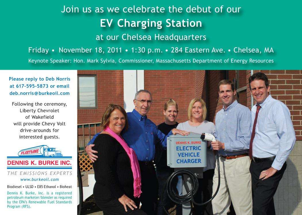 Burke EV Charger Chelsea Massachusetts