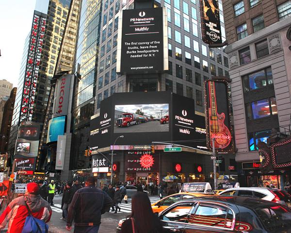 Dennis K Burke Times Square NY