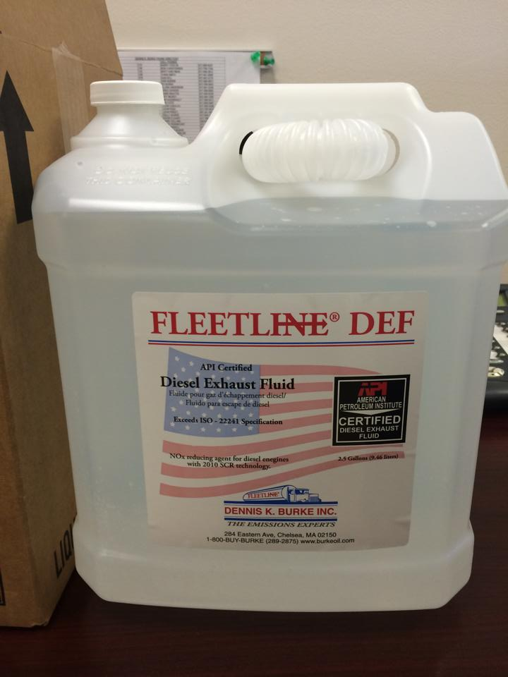 Bottle of Fleetline DEF