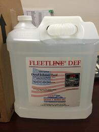 Bottle of Fleetline DEF