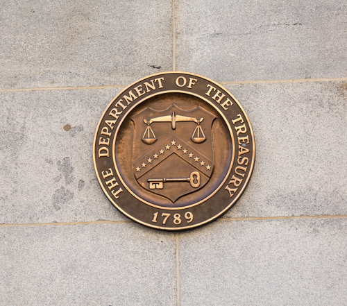 United States Department of Treasury seal