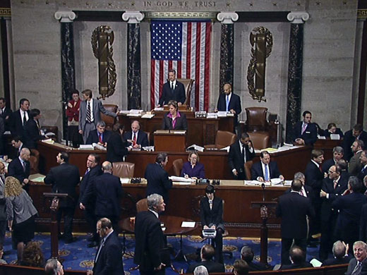 Picture of the United States House of Representatives