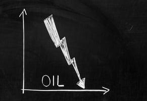 oil chalkboard