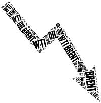 WTI Brent Crude Decline